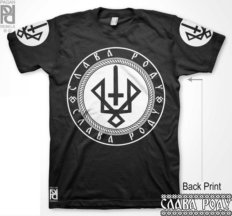 7358a0e6 Ruevit Руевит God Of War Warrior Slava Rodu T-Shirt