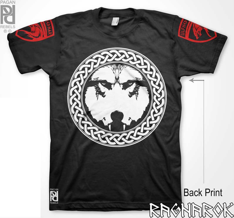 940d1f6d Ulfhednar Úlfhéðnar Wolf Elite Warriors Viking Ragnarok T-Shirt